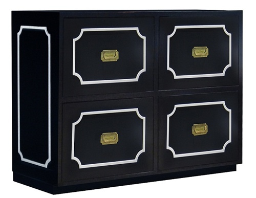Nurseryworks Uptown Dresser Changer In Black