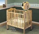 Orbelle Portable Crib Natural