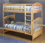 Orbelle Bunk Beds Natural