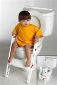Primo Freedom Trainer Potty Training Toilet Seat with Step