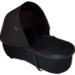 Phil and Teds Peanut Bassinet in Black