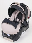 Graco Snugride Infant Car Seat in Platinum