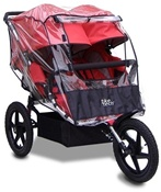 Tike Tech X3 Twin All Terrain Stroller Rain Cover