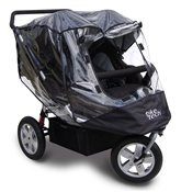 Tike Tech City X3 Twin Stroller All Season Cover