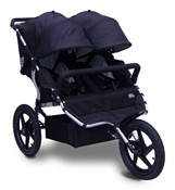 Tike Tech All Terrain X3 Sport Double Stroller in Classic Black