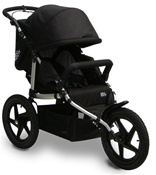 Tike Tech All Terrain X3 Sport Single Stroller in Classic Black