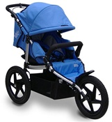 Tike Tech All Terrain X3 Sport Single Stroller in Pacific Blue