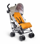 Uppababy G-Luxe Stroller 2016 Ani (Orange/Silver)
