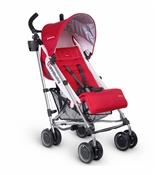 Uppababy G-Luxe Stroller 2016 Denny (Red/Silver)