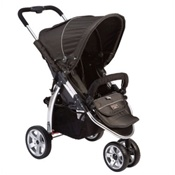 Valco Baby Latitude EX Single Stroller in Licorice