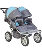 Valco Baby Tri Mode Double Stroller EX in Arctic