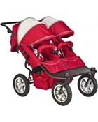 Valco Baby Tri Mode Double Stroller EX in Candy Apple Red