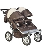 Valco Baby Tri Mode Double Stroller EX in Hot Chocolate
