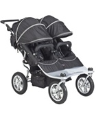 Valco Baby Tri Mode Double Stroller EX in Raven Black