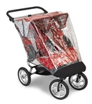 Baby Jogger Rain / Wind Canopy for City Elite Double Stroller