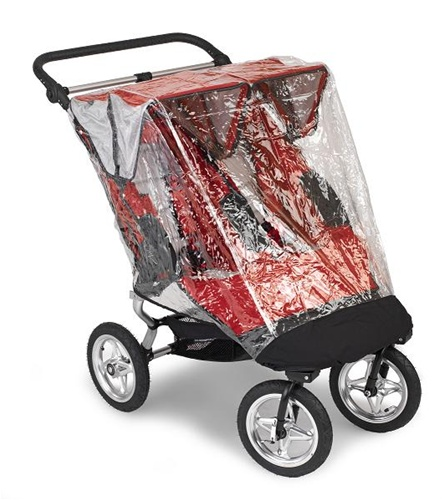 Baby Jogger Rain Wind Canopy For City Elite Double Stroller