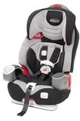 Graco Nautilus 3-in-1 Car Seat Keep Your Child Harnessed Longer in Matrix.