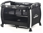 Rock Star Baby Play Yard in Black