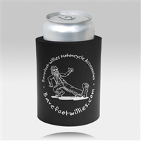 Keep your beverage safe and cool with the Barefoot Willies foam Koozie