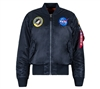 Alpha Nasa Ma-1 Flight Jacket - MJM21093C1