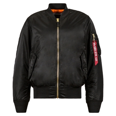 Alpha MA-1 Blood Chit Flight Jacket - MJM21300C1