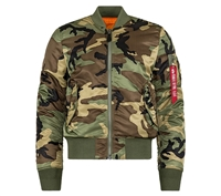 Alpha MJM44530C1 Ma-1 Slim Fit Flight Jacket