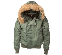 Alpha Industries N2-B Parka - MJN30000C1
