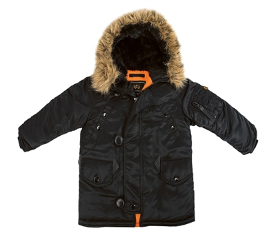 Alpha Youth N-3B Parka - YJN44500C1