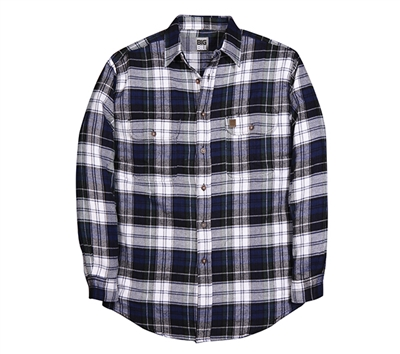 Big Bill Heavyweight Plaid Flannel Outdoor Shirt - 121