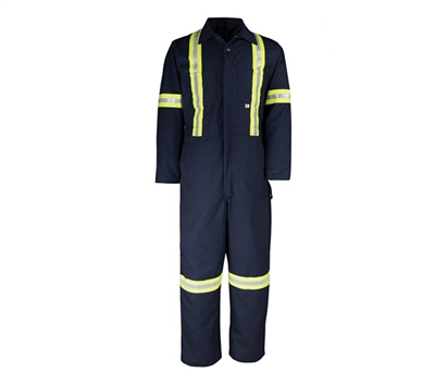 Big Bill Twill Deluxe Coverall with Reflective Tape - 429BF