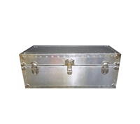 Biltmore Metal Covered Oversize Trunk 32x16x16 - 501-M