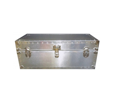 Biltmore Steamer Metal Covered Trunk 502-M