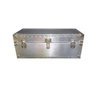 Biltmore Dormitory Metal Covered Trunk 36x21x16 - 503-M