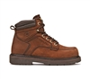 Carolina Mens Dark Brown 6-Inch Broad Toe Work Boot