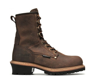Carolina 8 Inch Waterproof Logger Boots - CA8821