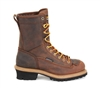 Carolina 8 Inch Steel Toe Lace to Toe Logger Boots - CA9824