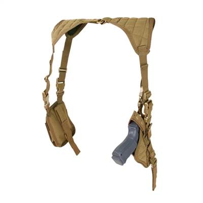 Condor Vertical Shoulder Holster - ASH