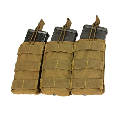 Condor Triple Open Top M4 Mag Pouch - MA27