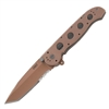 Columbia River Tanto Knife Designed by Kit Carson - M16-14D