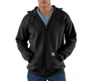 Carhartt Midweight Hooded Zip Front Sweatshirt - Black - K122