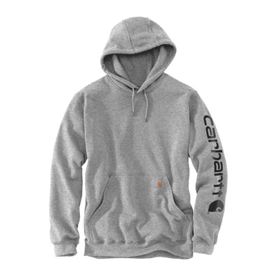 Carhartt Hooded Sleeve Logo Sweatshirt - K288