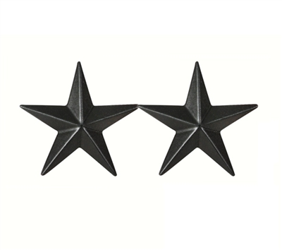 Major General 2 Star Submetal Insignia - 2SBMMG