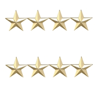 Four Star 1 Inch Gold Insignia - 4473G