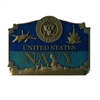 EEI United States Navy Belt Buckle - B0119