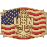 EEI US Navy Belt Buckle - B0120
