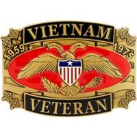 EEI Vietnam Veteran Belt Buckle - B0142