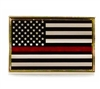 USA Red Line Honor Flag-Pin - P02322
