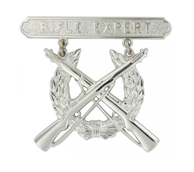 EEI Marine Corps Rifle Expert Qualification Badge - P16367