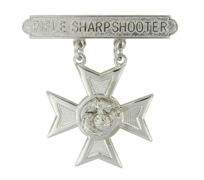 EEI Marine Corps Rifle Sharpshooter Qualification Bar - P16368