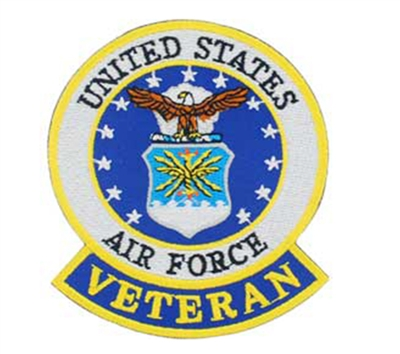 EEI Air Force Veteran Patch - PM0632